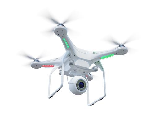 Wireless control Quadrocopter Stock Photo 06