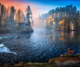 Wonderful natural scenery Stock Photo