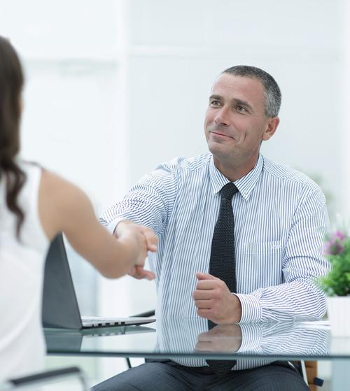business partnership and handshake Stock Photo 06