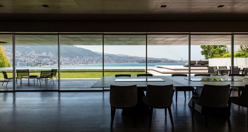 interior modern window Stock Photo