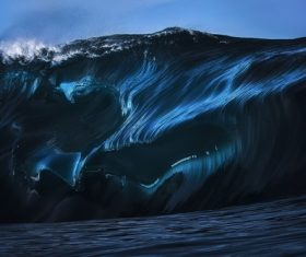 nature water waves Stock Photo