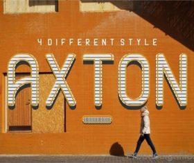 AXTON Fonts