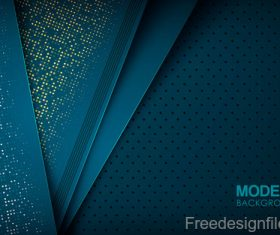 Abstract layered geometrical background design vector 03