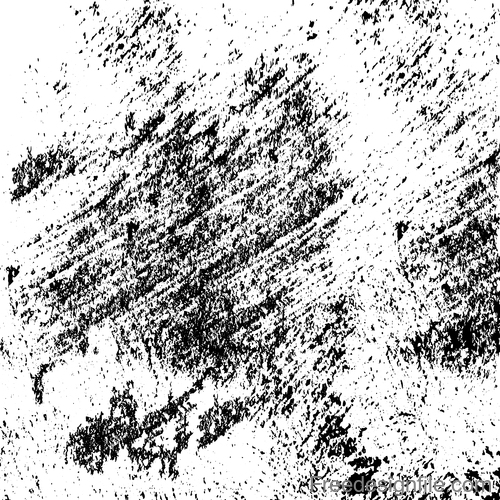 Black ink textured grunge background vector 02