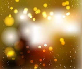 Bokeh bright effect background vector 01
