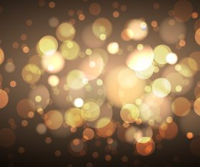 Bokeh bright effect background vector 02