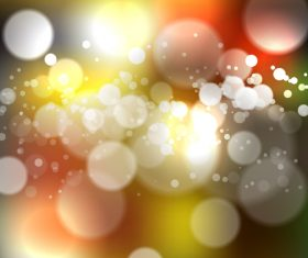 Bokeh bright effect background vector 03