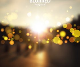 Bokeh bright effect background vector 05