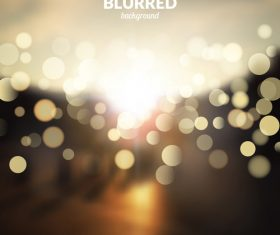 Bokeh bright effect background vector 06