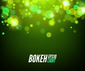 Bokeh bright effect background vector 09