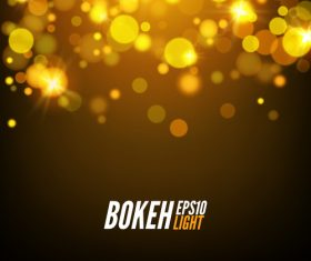 Bokeh bright effect background vector 10