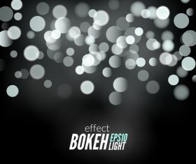 Bokeh bright effect background vector 11