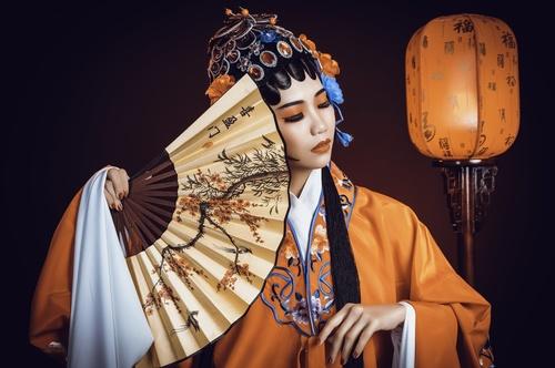 China Beijing opera performer Stock Photo