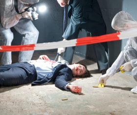Crime scene investigation Stock Photo 02