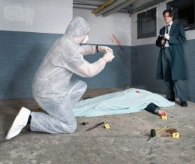 Crime scene investigation Stock Photo 05