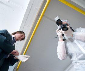 Crime scene investigation Stock Photo 07