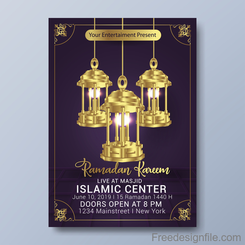 Eid Special Sale Poster, Banner Or Flyer With Discount ... |Eid Festival Poster