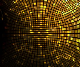 Gold shining mosaic background vector design 04
