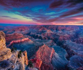 Grand Canyon nature landscape Stock Photo