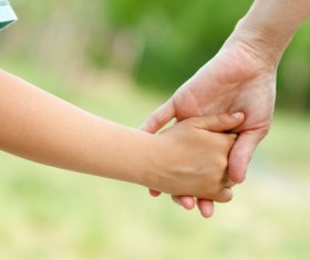 Holding hands Stock Photo 01