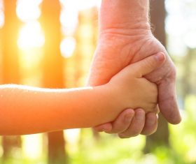 Holding hands Stock Photo 02
