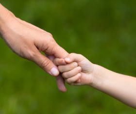 Holding hands Stock Photo 03