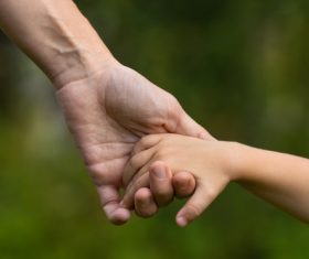 Holding hands Stock Photo 04