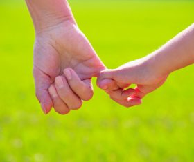 Holding hands Stock Photo 06