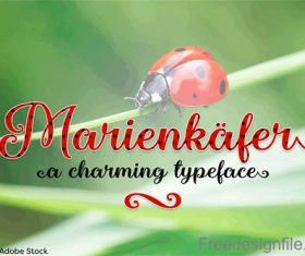 Marienkaefer Fonts