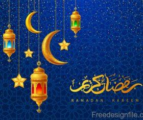 Ramadan lantern vector design 01