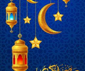 Ramadan lantern vector design 02