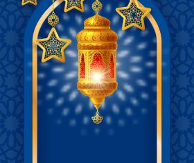 Ramadan wind vector design 01
