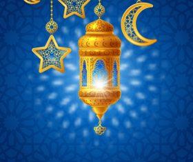 Ramadan wind vector design 02
