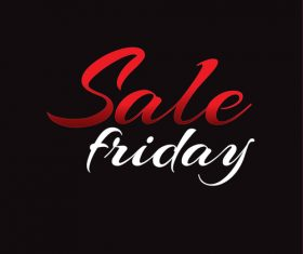 Sale friday background vector