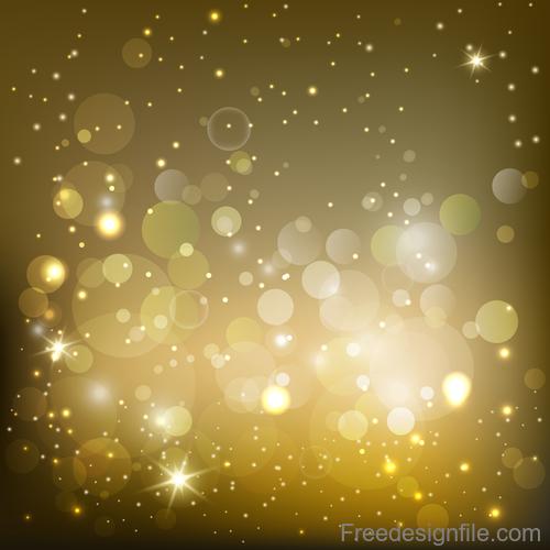 Shimmering blurs background vector design 01