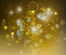 Shimmering blurs background vector design 02