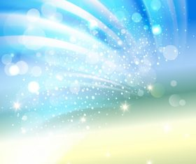 Sunlight with sea summer background vectors 03