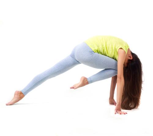 Various yoga action women Stock Photo 09