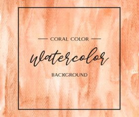 Watercolor textured background vector design 01