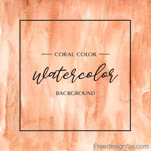 Watercolor textured background vector design 01