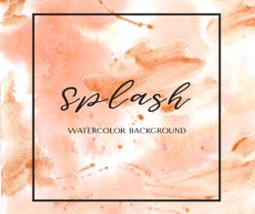 Watercolor textured background vector design 04