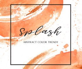 Watercolor textured background vector design 05