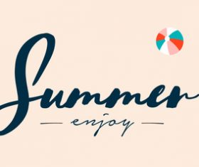 summer womens swinsuit background vector 02