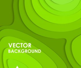 Abstract vector background Green geometry