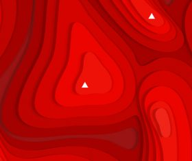 Abstract vector background Red geometry