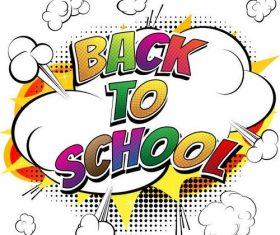 Back to super school cover vectors 02