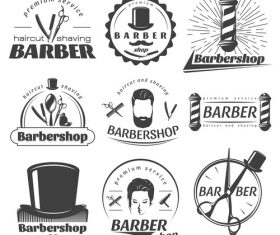 Barbershop label vector