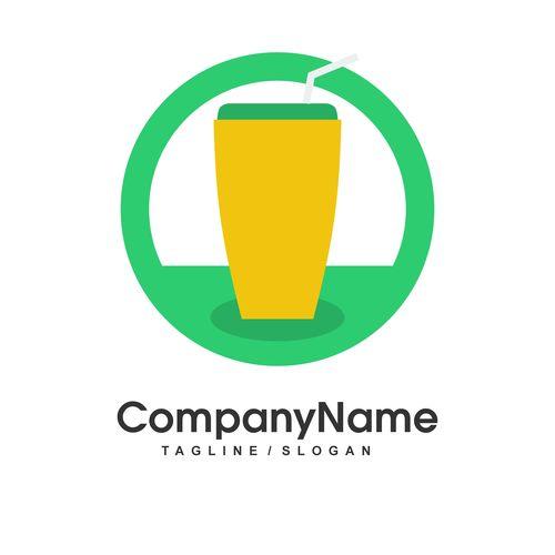 Beverage vector logo