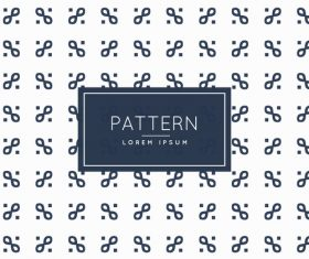 Black digital creative pattern on white background vector