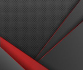 Black red edge Abstract vector template background